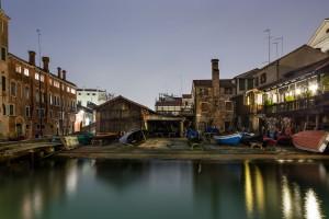 17D04 Venezia notte